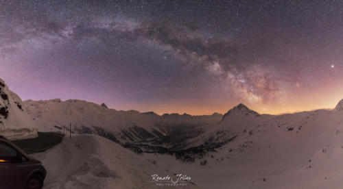 Bernina Milky Way